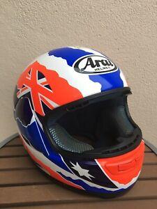 Arai Doohan Motorcycle Helmet Size XL NR2 Australia Flag