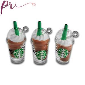 Iced Coffee Charms Resin Coffee Cup Charm Starbucks Cup Charm