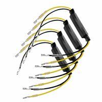4X résistance pour clignotant à LED Universel 12V 21W Moto Scooter 26 Ohms