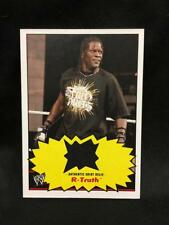 R-TRUTH 2012 Topps Heritage RELIC Authentic WRESTLING Worn SHIRT Rare WWE WWF