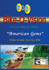"Bike-O-Vision Cycling Video, ""American Gems"" DVD"