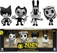 New Bendy and the Ink Machine Collectible Figure 4-Pack