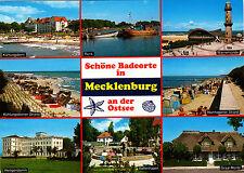 Schöne Badeorte in Mecklenburg an der Ostsee , ungel. AK.