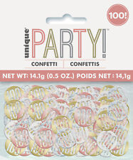 10 g Fiesta De Cumpleaños Glitz Confeti de mesa de zarzamora Decoraciones 18 21 Champagne
