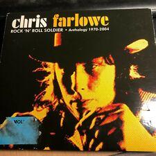CHRIS FARLOWE - Rock n Roll Soldier [ANTHOLOGY 1970-2004] (3xCD 2004) RARE/Blues