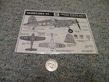 Modeldecal  decals 1/72 #6 USN Corsair Helldiver Kingfisher   G119