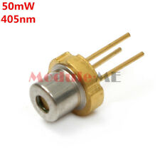 1PCS 405nm 50mw CW Violet/ Blue Laser Diode LD SLD3232VF Fit For Sony