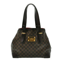 LOUIS VUITTON Damie Hampstead MM Tote Bag N51204 LV Auth pg324