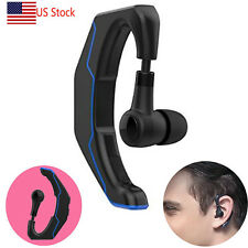 Wireless Ear Hook Bluetooth Headset Headphone Handsfree for Samsung S9 S8 S7 A3