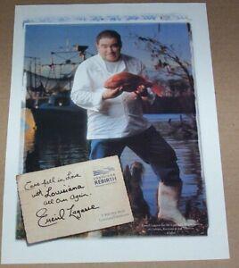 2006 print ad -Louisiana travel tourism Chef EMERIL LAGASSE vacation advertising