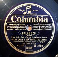 """Oscar Calle - Calabozo - La Chacarerita - Columbia - /10"""" 78 RPM"""