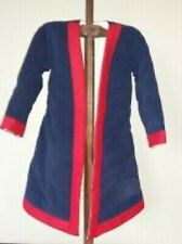 Roman Historical Costume Medieval Gambeson Blue & Red Color Fancy Style