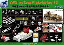 Bronco 1/35 35213 sWS w/2cm Flakviering 38