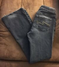 SILVER JEANS AIKO WOMENS SIZE 27 / 31 BOOT CUT
