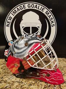 Eddy Goal Tec 200 Goalie Mask Adult Size 7 - 7 5/8
