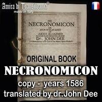 necronomicon livre original john dee occulte sombre rare grimoire mort mal satan