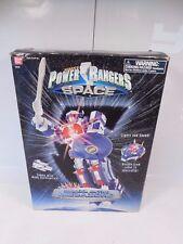 POWER RANGERS IN SPACE DELUXE ASTRO MEGAZORD FIGURE W/ORIGINAL BOX 1997 BANDAI