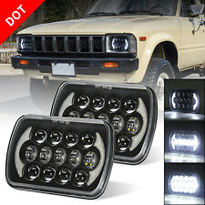 7x6 5x7'' Led Headlights Sealed Beam for Jeep YJ Cherokee XJ H5054 H6054LL 6052