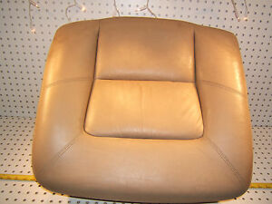 Mercedes Late C140 CL S500 C REAR Right P seat Back PARCHMENT Leather 1 Cushion