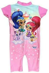 Official Shimmer & Shine Swimming Costume UV SwimSuit And Bathing Suit All Sizes