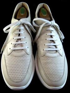 "NEW Allen Edmonds ""OSBORN"" Dress Casual Sneakers 13 D Bone  (680)"