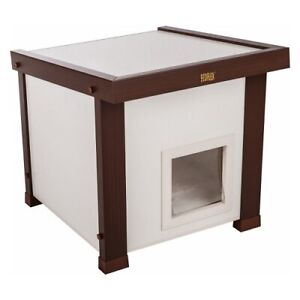 New Pet Feral Cat Year Round Outdoor House