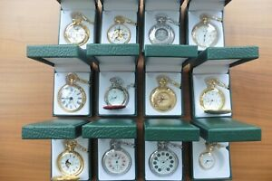 Taschenuhren 12 Stück aus Nachlas Sammelobjekte neuwertig, unbenutzt.