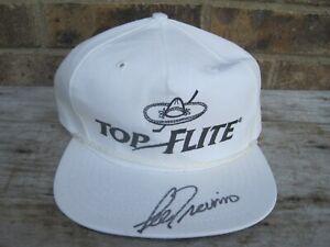 Lee Trevino Autographed Signed Top Flight Golf Hat