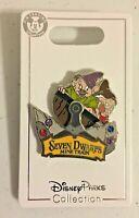 💎 Seven Dwarfs Mine Train Pin Dopey & Grumpy Rocking In Mine Cart Disney 100410