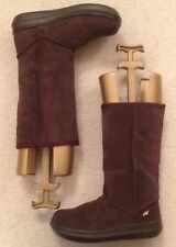 Rocket Dog Sugar Daddy Chocolate Brown Suede Boots Size 5 New With Box RRP £85
