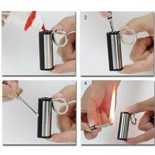 Steel Fire Starter Flint Match Lighter Keychains Camping Emergency Gear top one