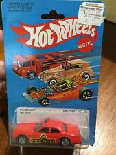Hot Wheels 1982 Fire Chaser