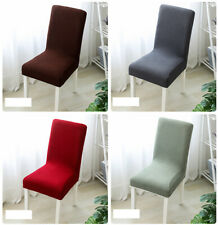 Thicken Dining Chair Cover Delicate Soft Home Chair Stretch Slipcover Removable