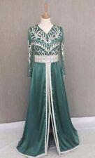 Moroccan Caftan Kaftan Takchita Size S Green Abaya TGB-2262-226-1
