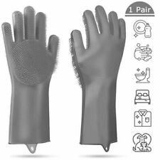 Gloves Kitchen Silicone Cleaning Magic  Dish Washing Glove for Household Scrubb