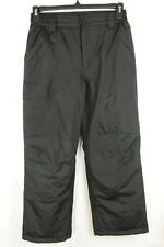 Girls Ski Pants Insulated Waterproof Snowboarding Black Size 14