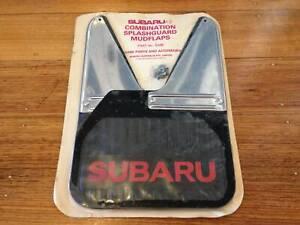 Subaru Leone Brumby L Series mud flaps