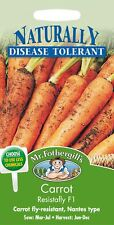 Mr Fothergills - Vegetable - Carrot - Resistafly F1 - 400 Seeds
