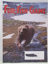 Fur Fish Game Magazine June 2005 Canada Spring Bear Hunt Walleye Trapping Hunt