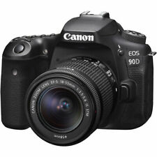 Canon EOS 90D Digital SLR Camera With EF-S 18-55mm f/3.5-5.6 IS STM Lens