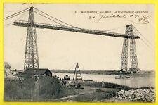 cpa 17 - ROCHEFORT en 1904 (Charente Maritime) Le PONT TRANSBORDEUR de MARTROU