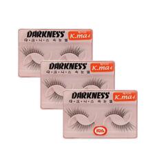Darkness eyelashes K.ma4 3pcs (US Seller)