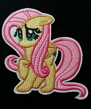 Iron On Pink/Yellow My Little Pony Girls Applique Patch