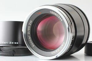 Rare [Top MINT] Carl Zeiss Sonnar T 85mm F/2 ZM Lens Leica M Mount From JAPAN