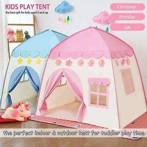 Kinderspielzelt für Mädchen Prinzessin Spielzelt Kinderzimmer für Drinnen Outdoo