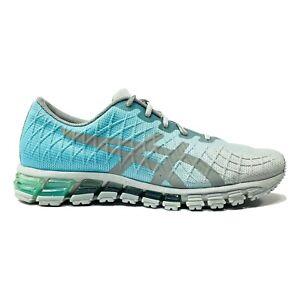 Asics Womens Gel Quantum 180 4 Running Shoes Grey Blue Ombré 1022A098 Size 10 US