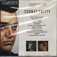Conway Twitty Legends in music (compilation, 12 tracks, UK) [CD]