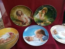 Vintage Donald Zolan Collector Plate Lot Childs Day Dreamer Waiting to Play etc