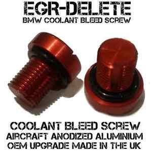BMW EGR Cooler Thermostat BLEED VENT SCREW PLUG 3 Series E30 E36 E46 E90 E91