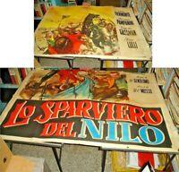Lo Sparviero Del Nile Manifesto 4F Original 1950 Pampanini Gassman Lau